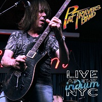 Pat Travers Live At The Iridium NYC Album Cover