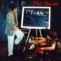 [Pat Travers PT Equals MC2 Album Cover]