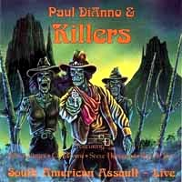 [Paul Dianno and Killers South American Assault - Live Album Cover]