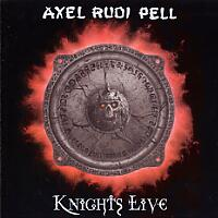 [Axel Rudi Pell Knights Live Album Cover]
