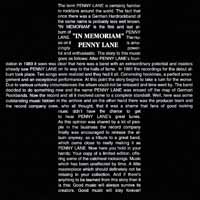 [Penny Lane In Memoriam Album Cover]