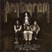 [Pentagram First Daze Here - The Vintage Collection Album Cover]