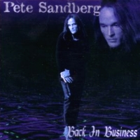 [Pete Sandberg Back In Business Album Cover]