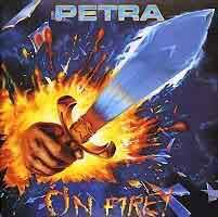 [Petra On Fire! Album Cover]