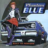 [Phantom Blue Built to Perform Album Cover]