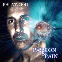 [Phil Vincent Passion and Pain Album Cover]