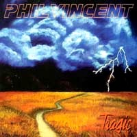Phil Vincent Tragic Album Cover