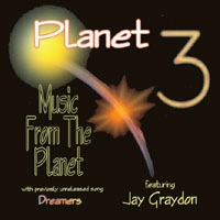 Planet 3 Music From the Planet Album Cover