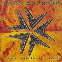 [Point Of Power It's About Time Album Cover]