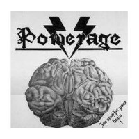 [Powerage Too Much For Your Brain Album Cover]