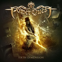 [Power Quest Sixth Dimension Album Cover]