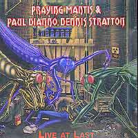 [Praying Mantis Live at Last Album Cover]