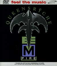[Queensryche Empire (DVD-Audio) Album Cover]