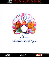 [Queen A Night at the Opera (DVD-Audio) Album Cover]