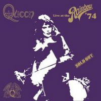 [Queen Live At The Rainbow '74 Album Cover]