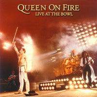 [Queen Queen On Fire: Live At The Bowl Album Cover]