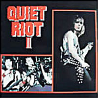 Quiet Riot Quiet Riot II Album Cover
