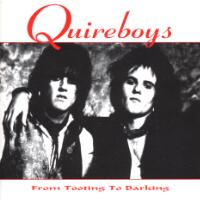 Quireboys From Tooting to Barking Album Cover