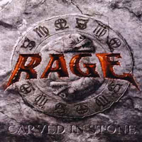 [Rage Carved In Stone Album Cover]