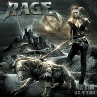 Rage Full Moon In St. Petersburg Album Cover