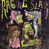 [Raging Slab Slabbage/True Death Album Cover]