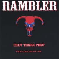 Rambler First Things First Album Cover