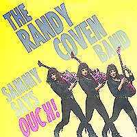 [The Randy Coven Band Sammy Says Ouch! Album Cover]