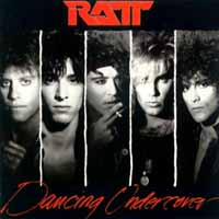 Ratt Dancing Undercover Album Cover