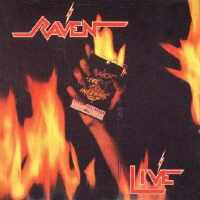 [Raven Live At The Inferno Album Cover]