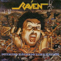 [Raven Nothing Exceeds Like Excess Album Cover]