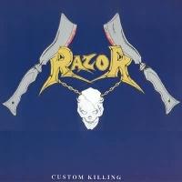 [Razor Custom Killing Album Cover]