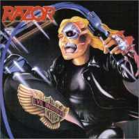 [Razor Evil Invaders Album Cover]