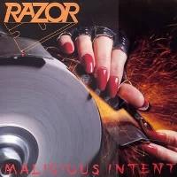 [Razor Malicious Intent Album Cover]