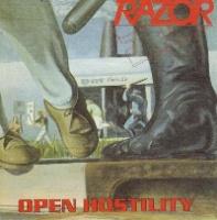 [Razor Open Hostility Album Cover]