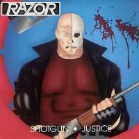 [Razor Shotgun Justice Album Cover]