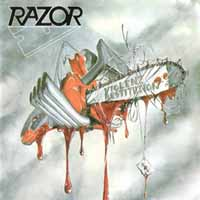 [Razor Violent Restitution Album Cover]