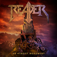 [Reaper An Atheist Monument Album Cover]