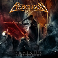 [Rebellion Arminius: Furor Teutonicus Album Cover]