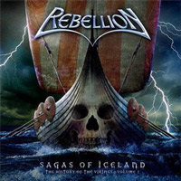 [Rebellion Sagas Of Iceland - The History Of The Vikings Vol. I Album Cover]