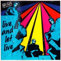 Red Tape Live and Let Live Album Cover