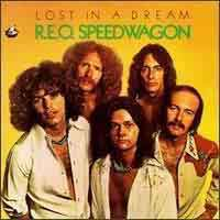 [REO Speedwagon Lost in a Dream Album Cover]