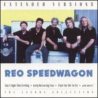 [REO Speedwagon Extended Versions: The Encore Collection Album Cover]
