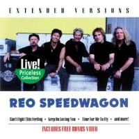 REO Speedwagon Extended Versions: The Encore Collection Album Cover
