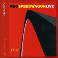 [REO Speedwagon Live Plus Album Cover]