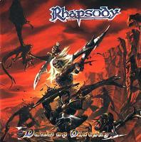 [Rhapsody Dawn of Victory Album Cover]