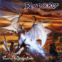 [Rhapsody Power Of The Dargonflame Album Cover]