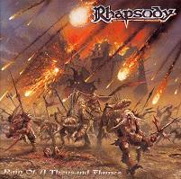 [Rhapsody Rain of a Thousand Flames Album Cover]
