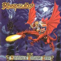 [Rhapsody Symphony of Enchanted Lands Album Cover]