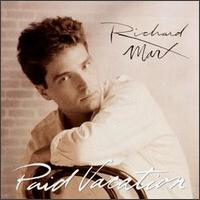 Richard Marx Paid Vacation Album Cover