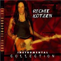 [Richie Kotzen Instrumental Collection: The Shrapnel Years Album Cover]